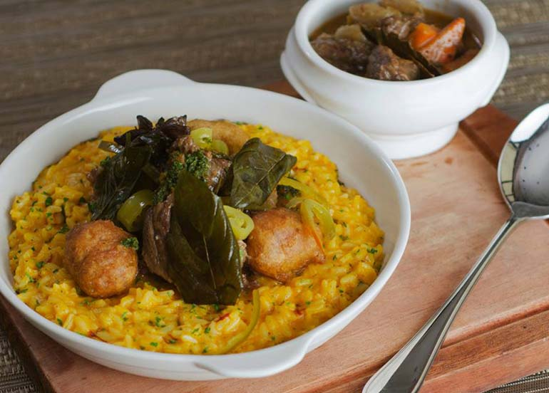 Risotto from Toni and Sergio