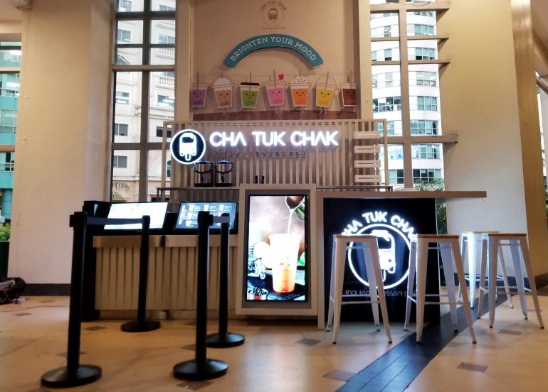 cha tuk chak milk tea store