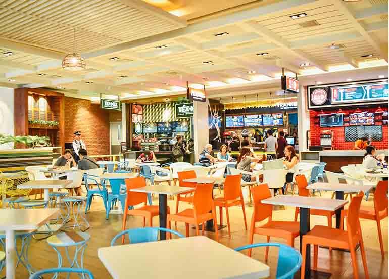 mega food hall, sm megamall