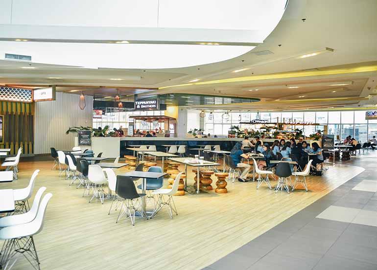 food court, sm aura
