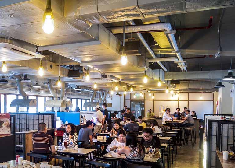 interiors, food hall, the pantree