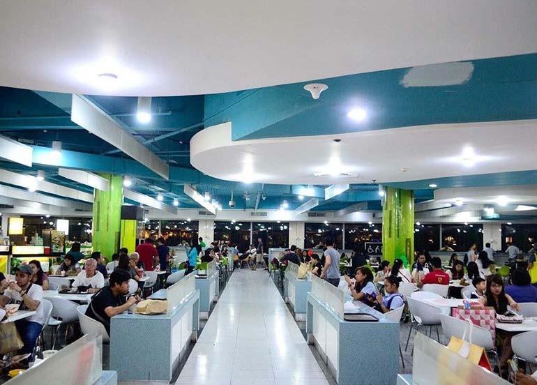 food court, glorietta 4