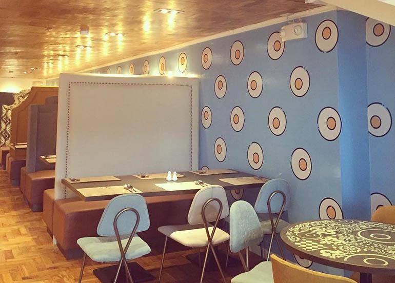b & p dining area