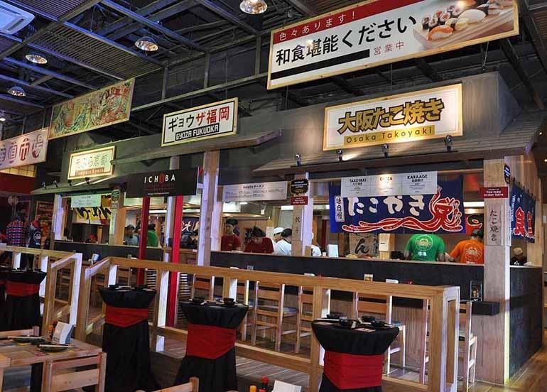 japanese stalls