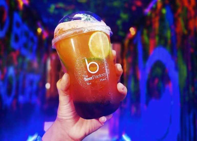 boba milk tea beer