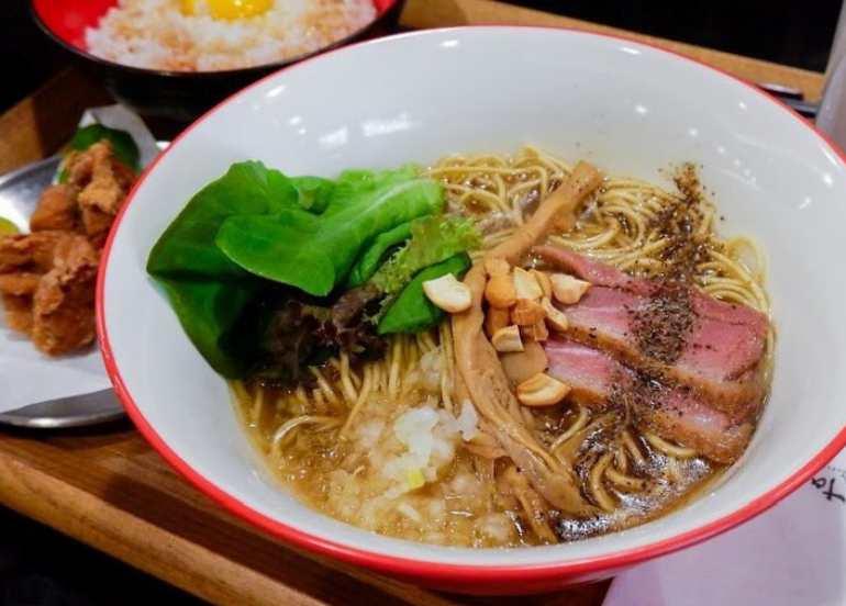 tsuta, bgc restaurants, ramen, noodles, japanese food