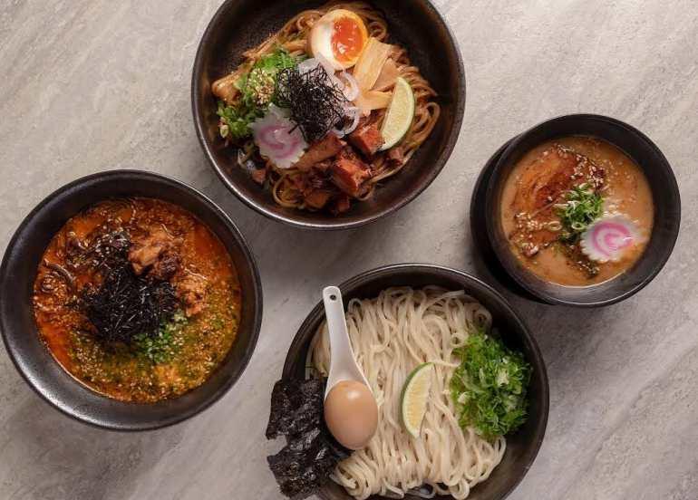ramen, tsukemen, rockwell, noodles, japanese food