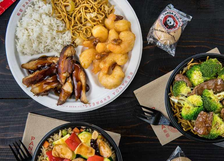 panda express, fast food chain, chinese food