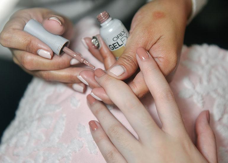 gel manicure