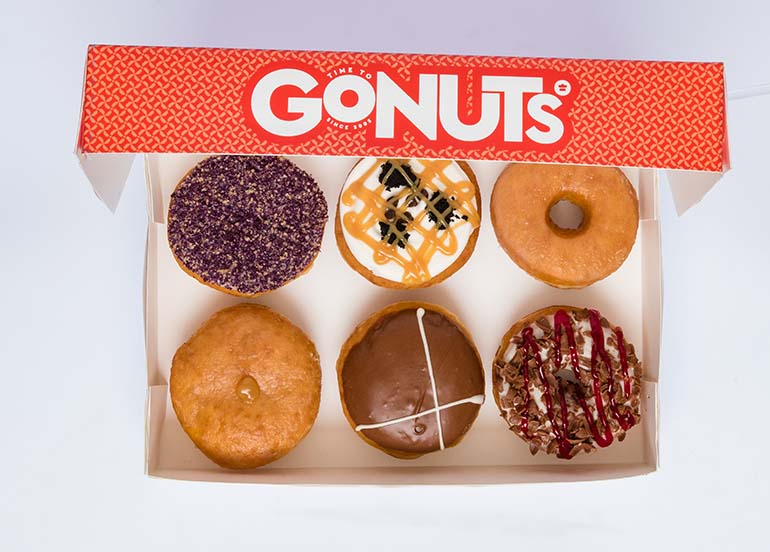 Assorted Donuts from GoNuts