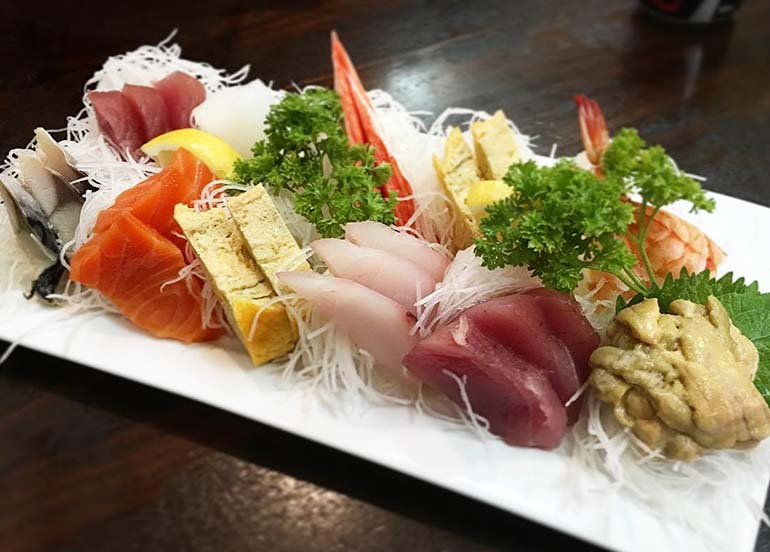 Sashimi Platter from Oishinbo