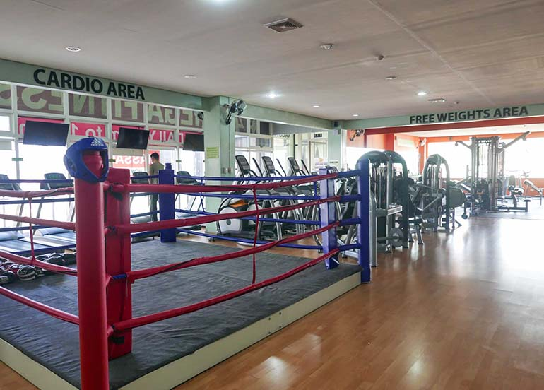 boxing-rink