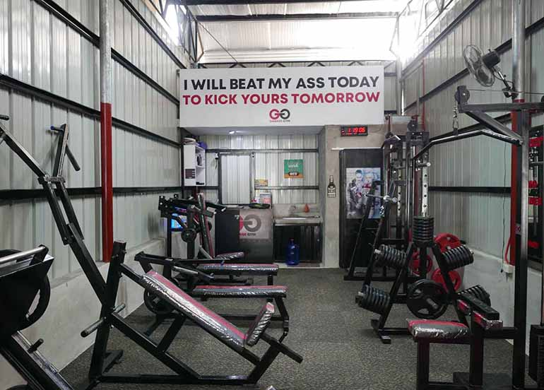 Get motivated with this offer from garage gym booky