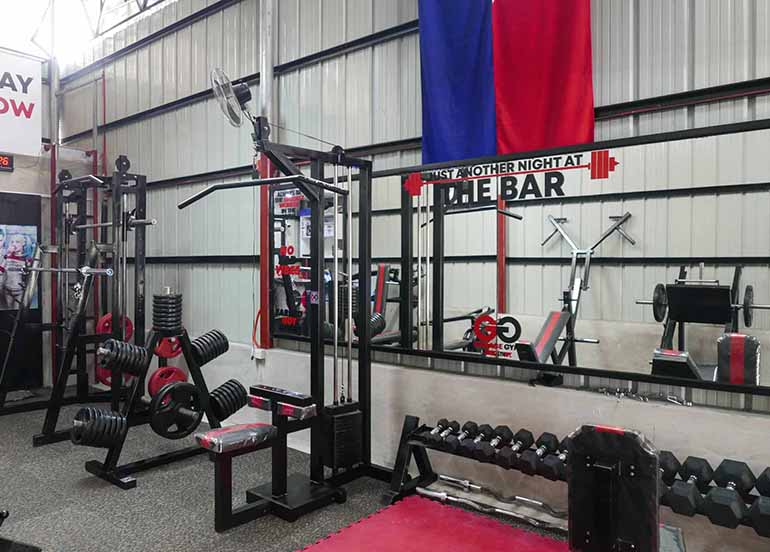 Page equipment packages perfect for garage gyms and home gyms