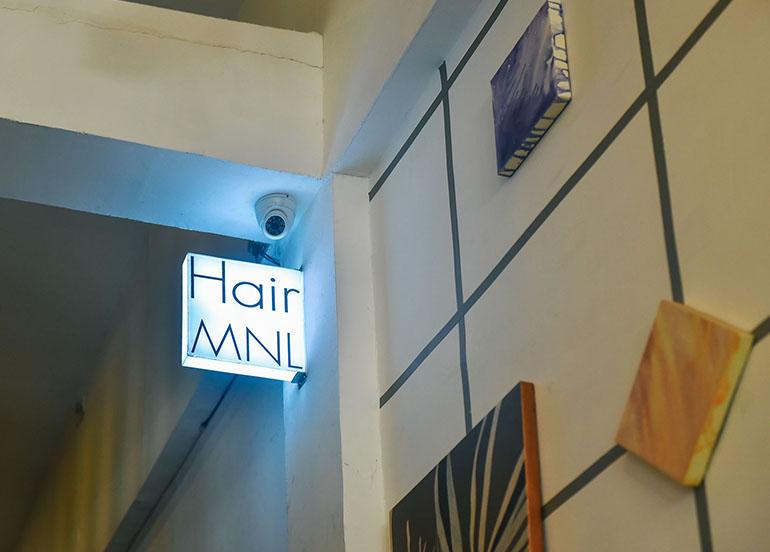Hair MNL studio logo
