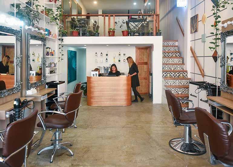 Hair MNL Studio interiors