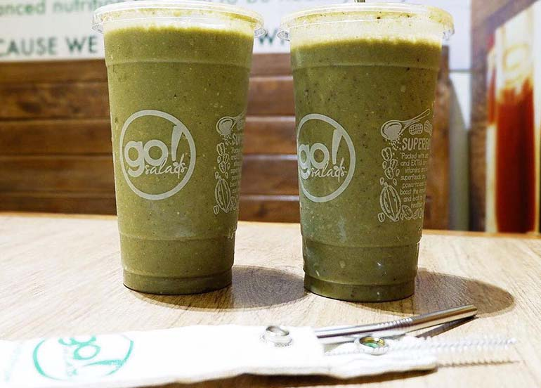 Smoothies from Go Salad