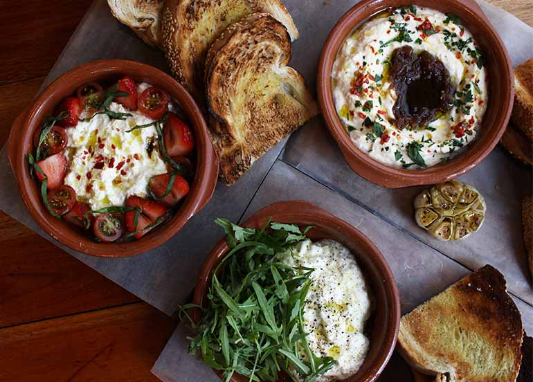 Bread and Dips from Green Pastures