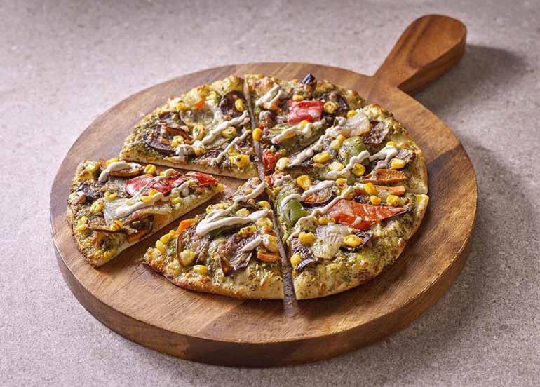 Garden Pizza from medley Modern Mediterranean