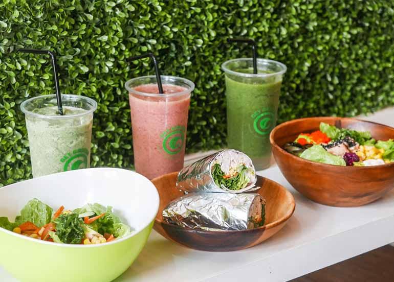 Get Greens Smoothies, Bowls and Wraps