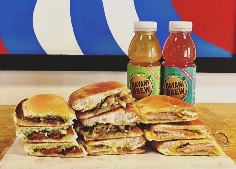 Sandwiches and a Drink from Pepi Cubano