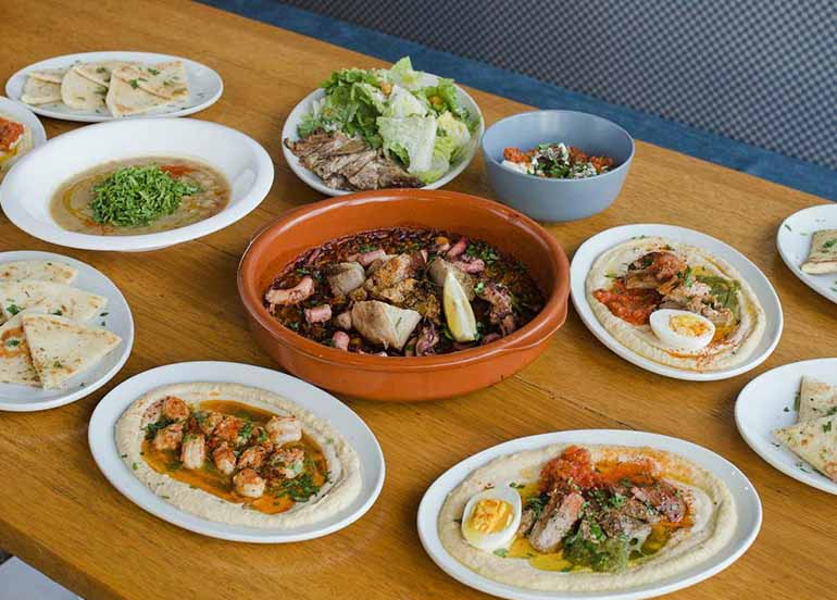 Greek Dishes from Souv