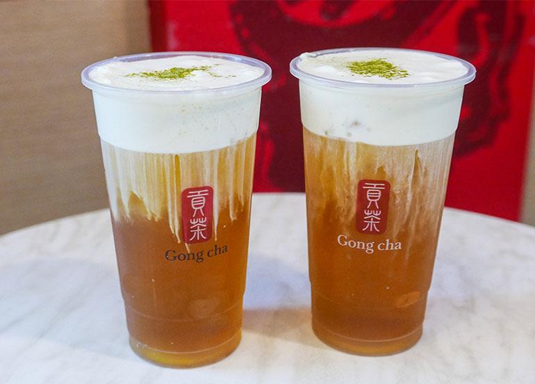 Alisan Milk Tea from Gong Cha