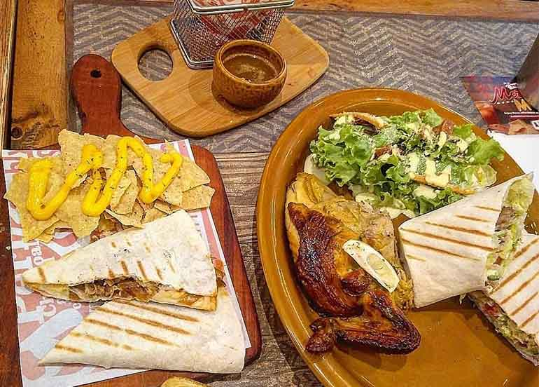 Quesadillas from Peri-Peri Charcoal Chicken