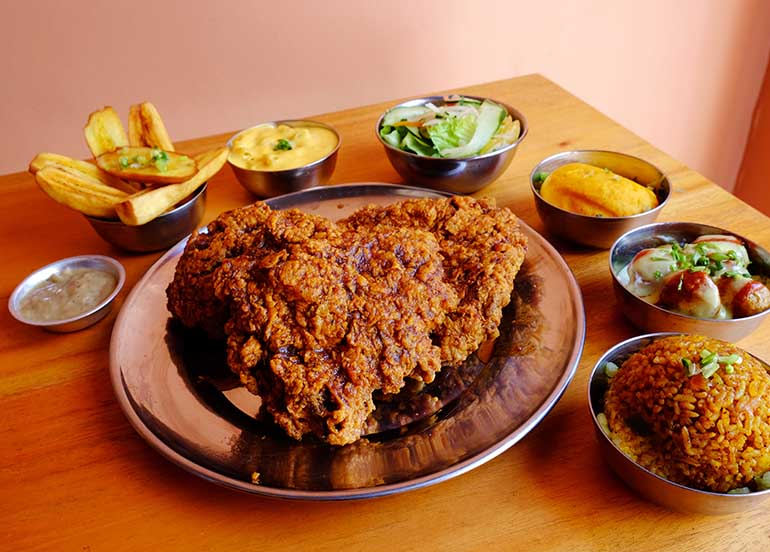 Fried Chicken from Senor Pollo