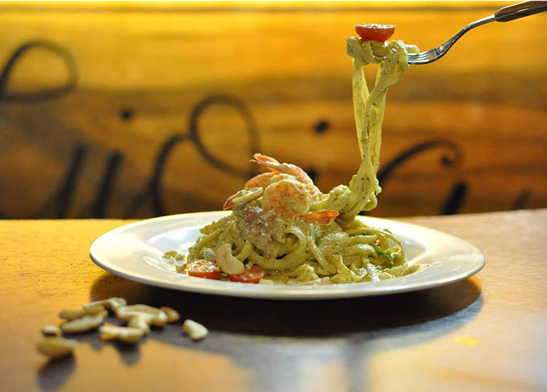 Seafood Pesto Pasta from Gioia