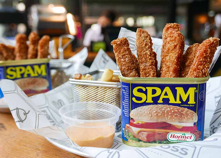 Spam Fries from Fritoss