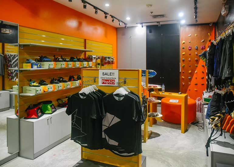 climb central store