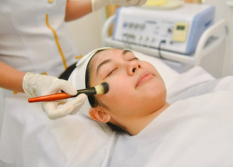 facial care, oxygen peel