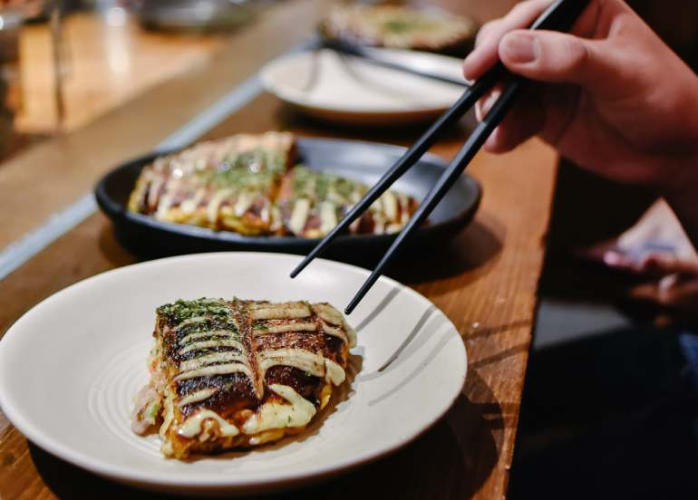 dohtonbori, sm mall of asia restaurants, okonomiyaki