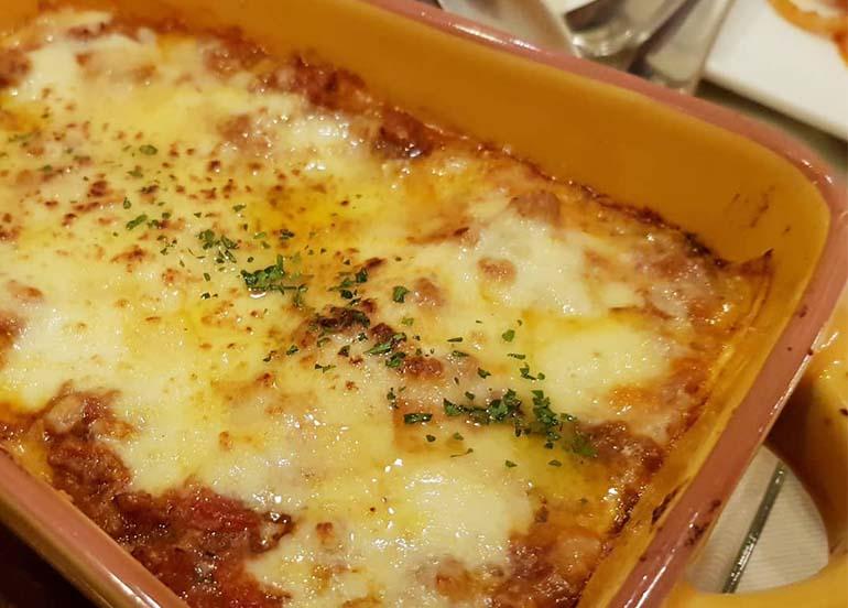 Lasagne Al Formo from Rossini Ristorante Italiano