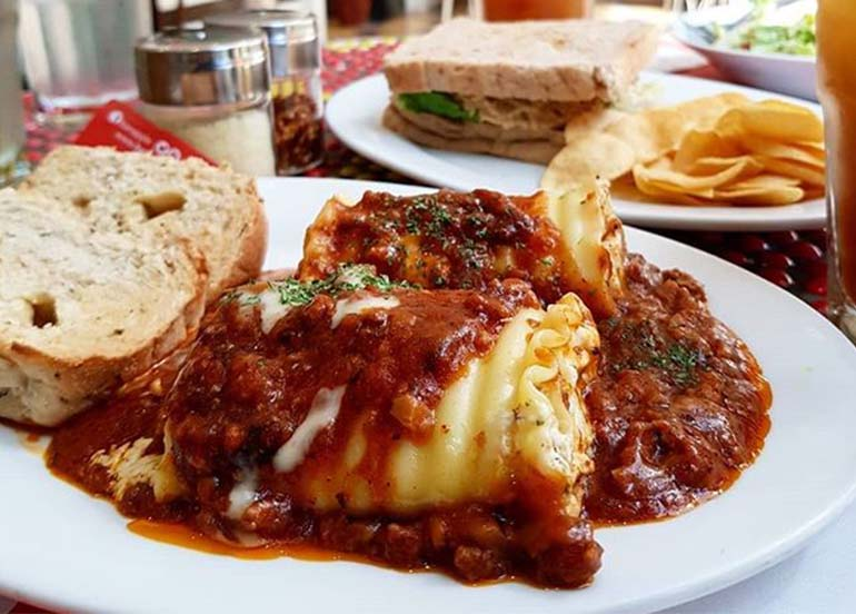 Lasagna Roll Ups from Banapple
