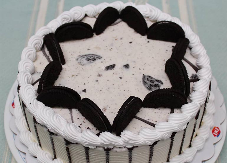 Oreo Cake from Dairy Queen