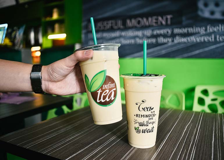 Original Milk tea from Infinitea