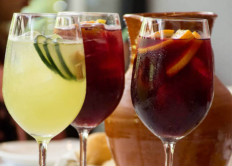 Sangria from Tapella Resto Bar