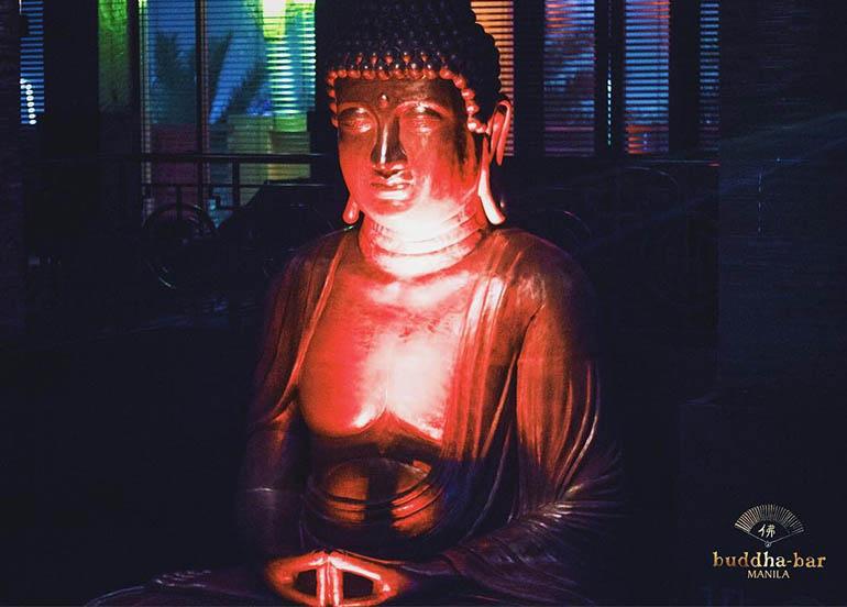 Buddha from Buddha Bar Manila