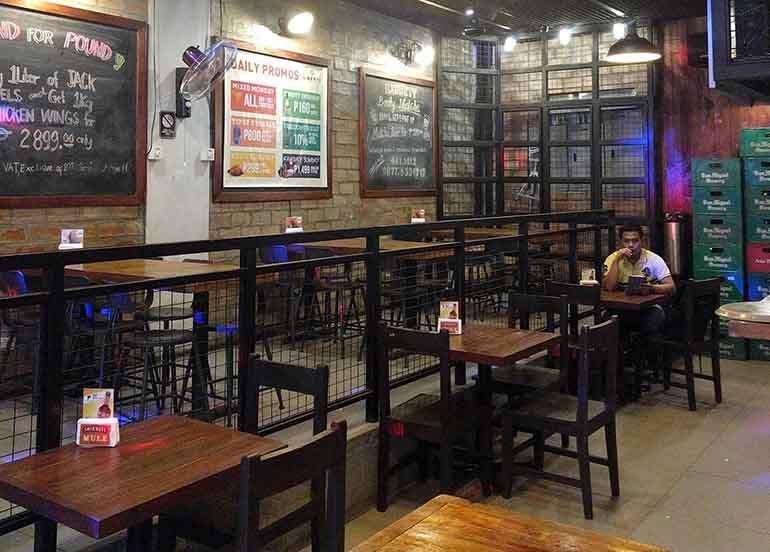 Liberty Kitchen + Bar Interiors