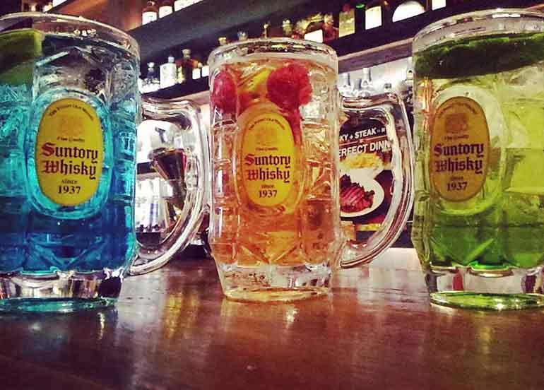 Japanese drinks Highball