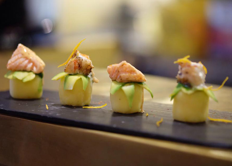 Sushi from Nikkei