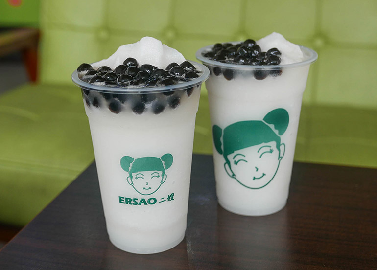 Buko Pandan Fruit Shake from Ersao