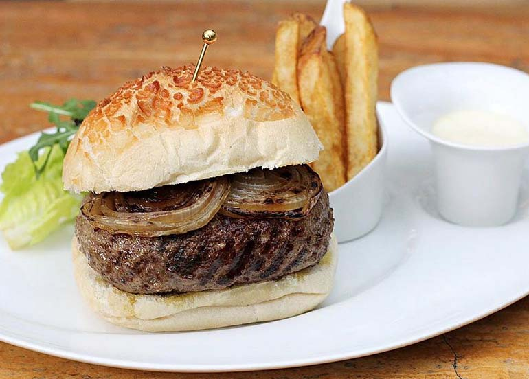 Lusso Demi Pound Burger from Lusso