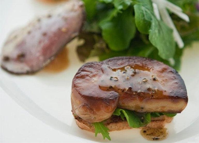 Duck Sampler Foie Gras from Antonio's Restaurant Tagaytay