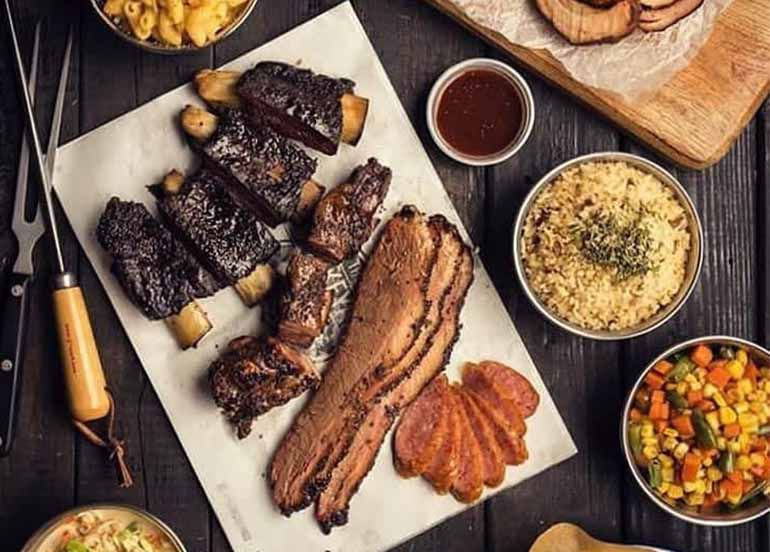 Barbequed Meats from The Smokeyard