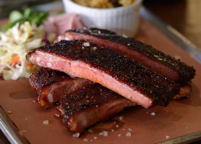Ribs from Mighty Quinn's