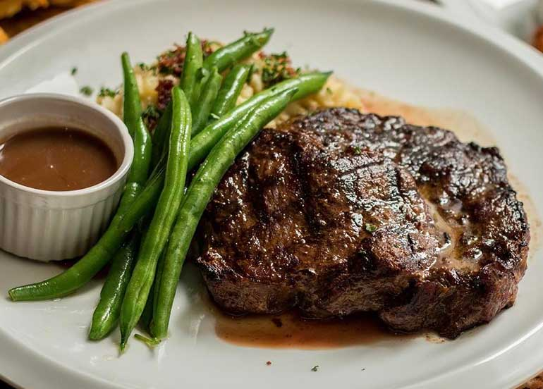 Steak from Bugsy's PH