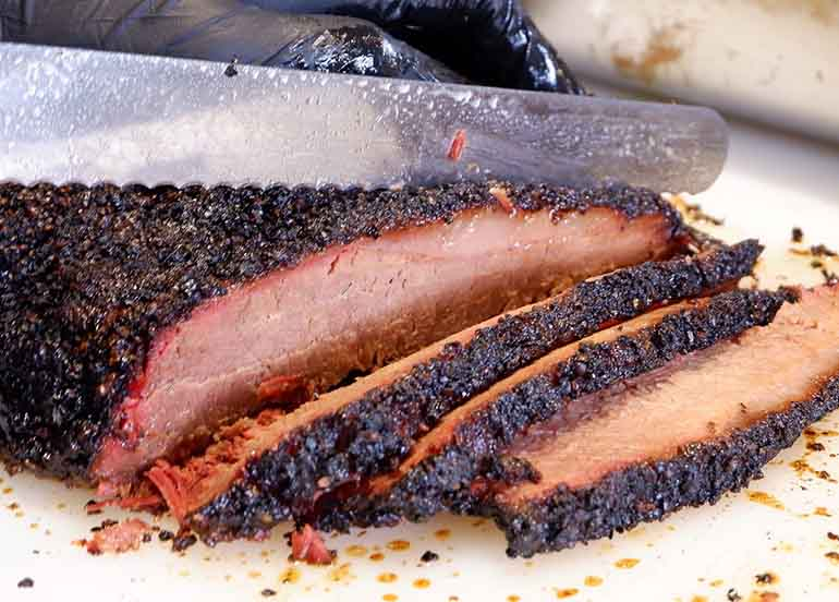 Brisket from Holy Smokes